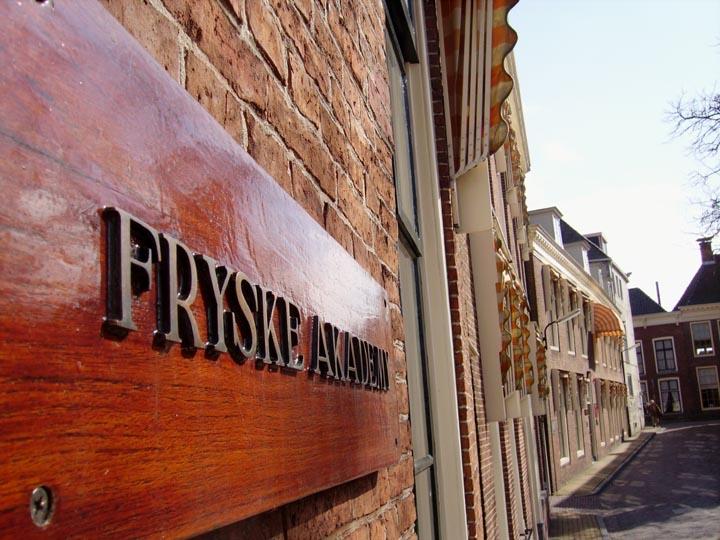 Adres en contact: Fryske Akademy